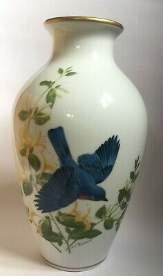 Franklin Mint Limited First Edition Porcelain Vase. Issued By RSPB • 19.50£