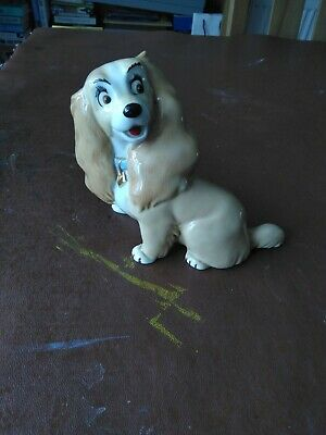 Wade Porcelain Lady And The Tramp Figure • 2.99£