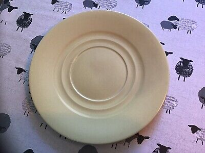 Vintage Branksome 24 Cm Plate Yellow Twin Tone • 3£