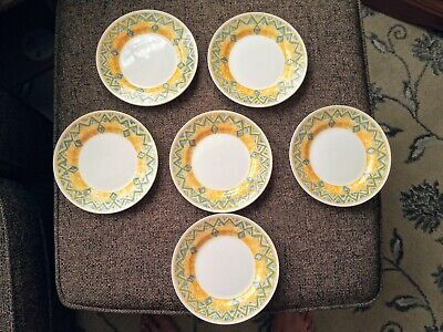 6 X Churchill Port Of Call Herat Side Plates 6.75  Dia  • 16.99£