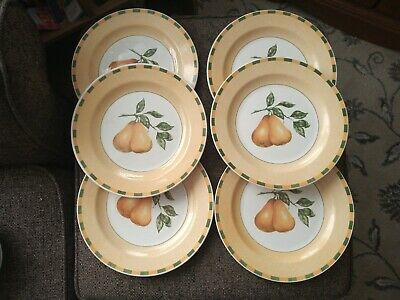 6 X Churchill Somerset Dinner Plates 10.25  Dia • 19.99£