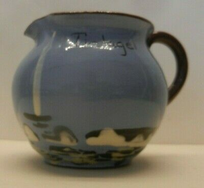 TINTAGEL BABBACOMBE POTTERY JUG Seagull  Design With NO Seagull ODDITY • 17£
