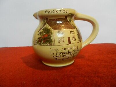 PAIGNTON Scores Pottery  Friendship Jug Made In Barnstaple • 16£