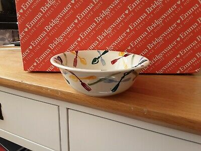 NEW - Emma Bridgewater Polka Knives & Forks Cereal Bowl - New - 1st Quality  • 15.50£