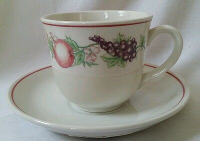 New Boots 1980/90s Orchard 1 X Cup & Saucer (More Available Pls See Description) • 18£