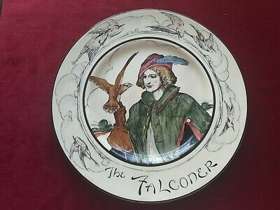 Vintage Royal Doulton Plate The Falconer D4270 Birds 10.5 Inch • 14.99£