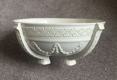 Final Reduction Rare Large Wedgwood Creamware Bowl With Releif Decoration • 26.95£