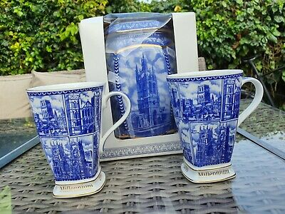 Ringtons Millenium Vase And Mugs • 15£