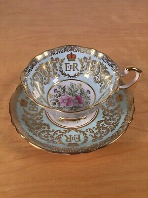 Paragon Queen Elizabeth Coronation 1953 Teacup And Saucer • 50£