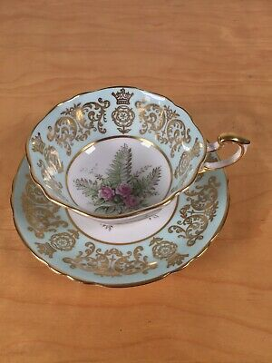 Paragon Queen Elizabeth Coronation 3rd Anniversary Teacup And Saucer • 45£