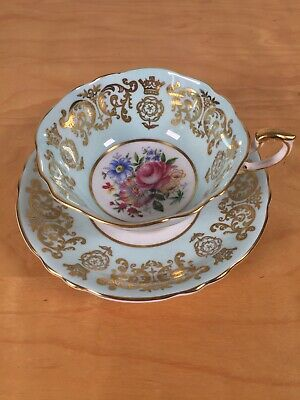 Paragon Queen Elizabeth Coronation 4th Anniversary Teacup And Saucer • 41£