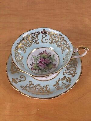 Paragon Queen Elizabeth Coronation 5th Anniversary Teacup And Saucer • 45£