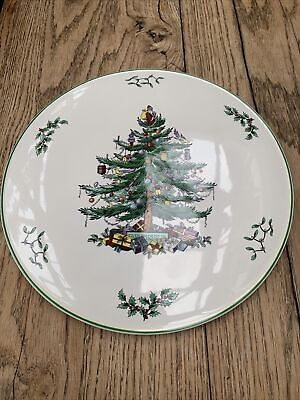 Spode CHRISTMAS TREE Cake Plate / Cheese Platter • 7£