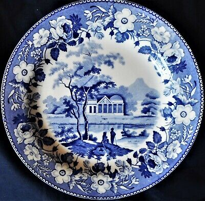 Wedgwood 'pavilion' Pattern Plate,  Excellent & Rare,1822 • 25£