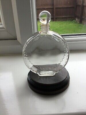 R.lalique Perfume Bottle Nina Ricci In Very Good Condition ,clear Glass • 220£