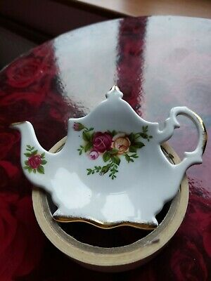Old Country Roses Teabag Holder • 2.99£