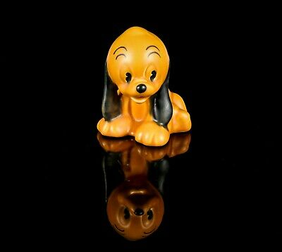 Wadeheath - Walt Disney Pluto's Pup Puppy Dog Sitting Figure Model • 100£