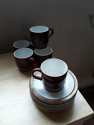 Poole Pottery Coffee Cups • 9.99£