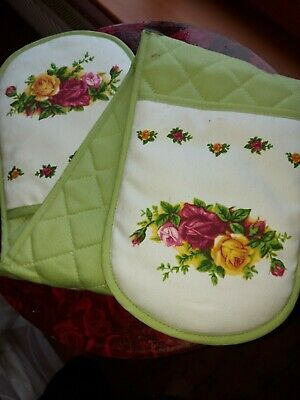 Old Country Roses Double Oven Glove  • 1.99£