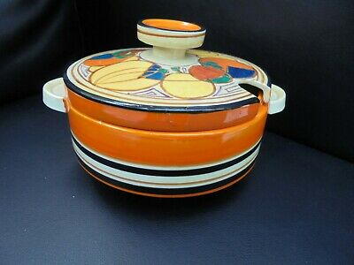 A Clarice Cliff MELONS Tureen • 285£