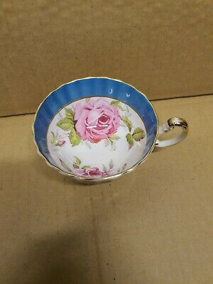 Pretty Aynsley Cabinet Cup Pink Roses  • 5£