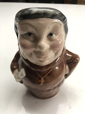 Staffordshire Character Jugs By Manor 'friar' Toby Character Jug • 15£