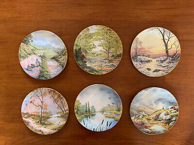 Royal Doulton -   At Peace With Nature  6 Plate Set By Elizabeth Gray • 18.99£
