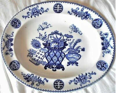 Wedgwood ''basket'' Pattern Serving Plate, Dated 1880, Excellent • 20£