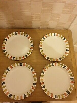 4 Midwinter  Mexicana  Plates 9  Designed By Jessie Tait  • 6.50£