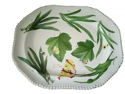 Spode Prototype Very Lrg Floral Haven Platter Trial Design Extremely Rare Trdt • 44£