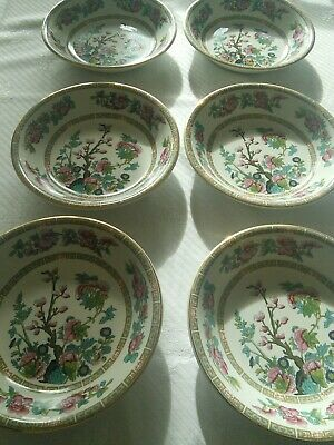 Madock Indian Tree, 6 Soup Plates • 5£