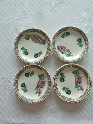 Madock Indian Tree, 4 Butter Plates 3 1/8 , 8cm • 3£