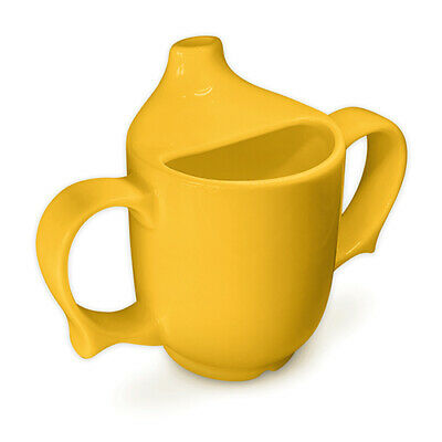 Wade Dignity Two Handled Feeding Cup - Yellow - Triple Pack • 26£