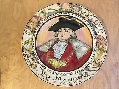 Royal Doulton Professionals Plate Series Ware The Mayor • 8£