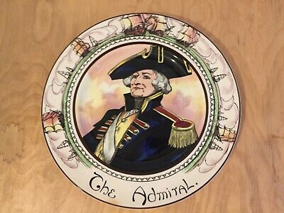 Royal Doulton Professionals Plate Series Ware The Admiral  • 8£
