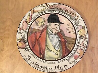 Royal Doulton Professionals Plate Series Ware The Hunting Man • 8£