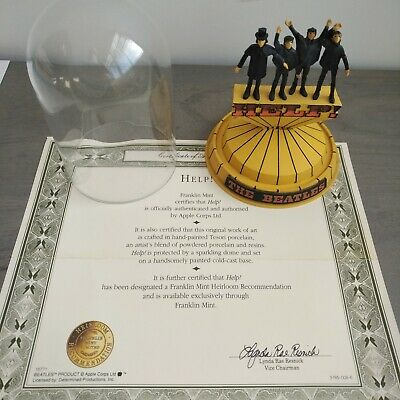 The Beatles - Franklin Mint,  Help - Limited Edition  Dome - With Coa. • 39.99£