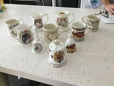 Royal Family Commemorative Ware Bone China - Various X 10 Items • 10£