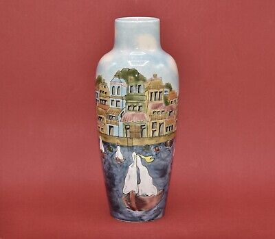 Cobridge Stoneware For Liberty~ Riviera Vase Nicola Slaney Limited Edition 2000 • 199.99£