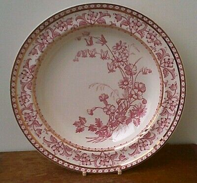 Antique (1880's) Wedgwood & Co (Verona Design) Ironstone Dessert Bowl With Gold  • 9.99£