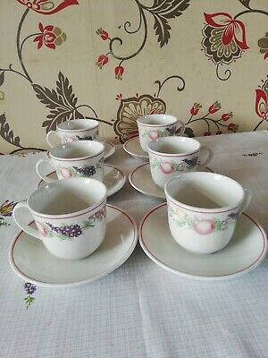 Boots Orchard Co Plc Tea Cups And Saucers • 1.99£