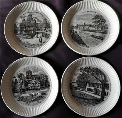 Wedgwood 'bicentenary ' Pattern History Of Wedgwood Four Plates • 25£