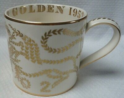 Wedgwood Commemorative Mug, Guyatt, Golden Jubilee 2002, Limited Edition? • 35£