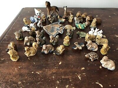 Vintage Wade Whimsies & Other Miniatures Job Lot Collectibles Boot Sale • 1.20£