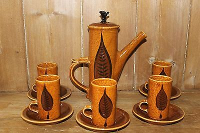Stuart Bass Exmoor Devon Pottery Coffee Set    • 28£