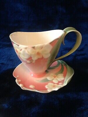 Franz Winter Orchid Moth Cup And Saucer • 22£