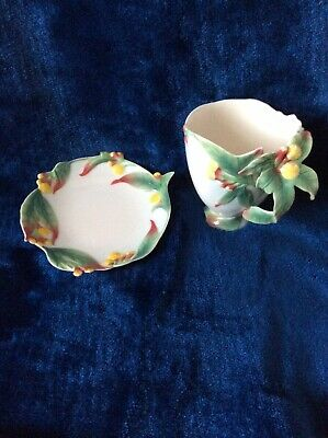 Stunning Franz Clove Cup And Saucer - Boxed FZ00462 • 28£