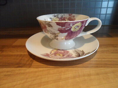 New Laura Ashley China Cup And Saucer • 10£