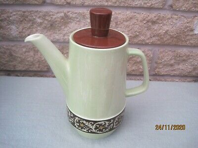 Retro Vintage Coffee Pot By Carlton Ware 2743 Tapestry & Daisy Chain Range C1960 • 13.50£