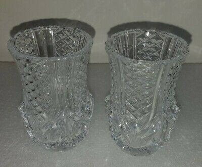 Vintage Small Glass Vases • 9.99£